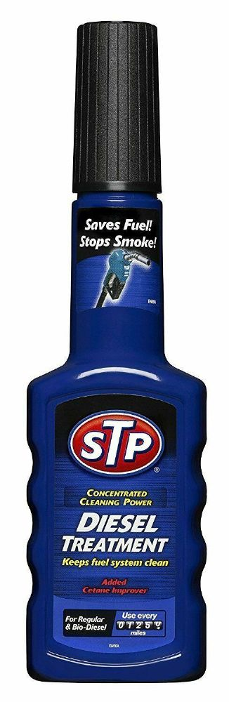 STP Diesel Fuel System Injector Treatment 200ml Reduces Smoke Restores Power